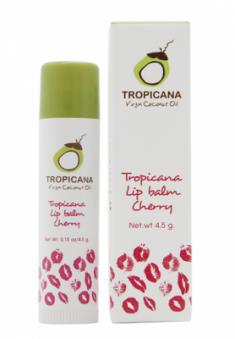Бальзам для губ ВИШНЕВЫЙ АРОМАТ TROPICANA Lip balm Cherry 4,5г