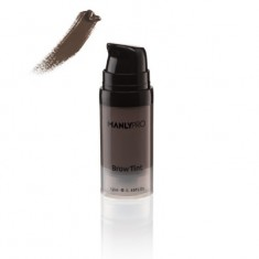 Гелево-кремовый суперстойкий тинт для бровей Manly Pro Brow Tint нейтральный холодный коричневый ET03 12мл