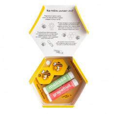 Сделанопчелой, Набор «Пчелы любят тебя», Grapefruit & Melissa