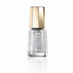 Mavala, Лак для ногтей  №909.96, Cyber Silver