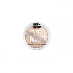 MAKEUP OBSESSION Пудра матирующая / MATTE BAKED POWDER GAME SET MATTE CABO