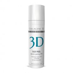 Collagene 3D гель-пилинг для лица EASY PEEL с хитозаном на основе гликолевой кислоты 10% pH 2,8 130мл