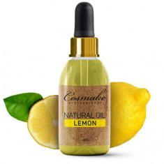 Cosmake, Масло для ногтей и кутикулы «Лимон», 30 мл