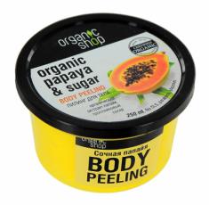 """Пилинг для тела Organic Shop """"Сочная папайя"""" 250мл"""