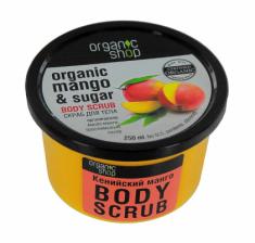 Скраб для тела Organic Shop Кенийский манго 250мл
