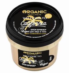 "Крем-бронзер для лица и тела Organic Kitchen ""Welcome to California"" 100мл"