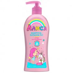 Алиса Шампунь для волос для детей 2 в 1 легкое расчесывание 350мл АЛИСА