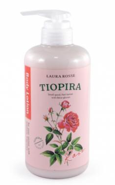 Лосьон-молочко для тела ароматерапия Роза Laura Rosse Body lotion rose 500мл