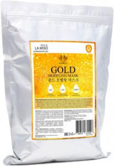 Маска альгинатная с частицами золота La Miso Gold modeling mask 1000г
