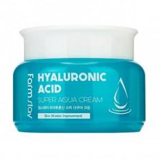 суперувлажняющий крем с гиалуроновой кислотой farmstay hyaluronic acid super aqua cream