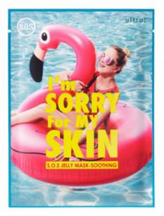 Маска для лица тканевая после солнца I'm Sorry For My Skin S.O.S. jelly mask-soothing 33мл